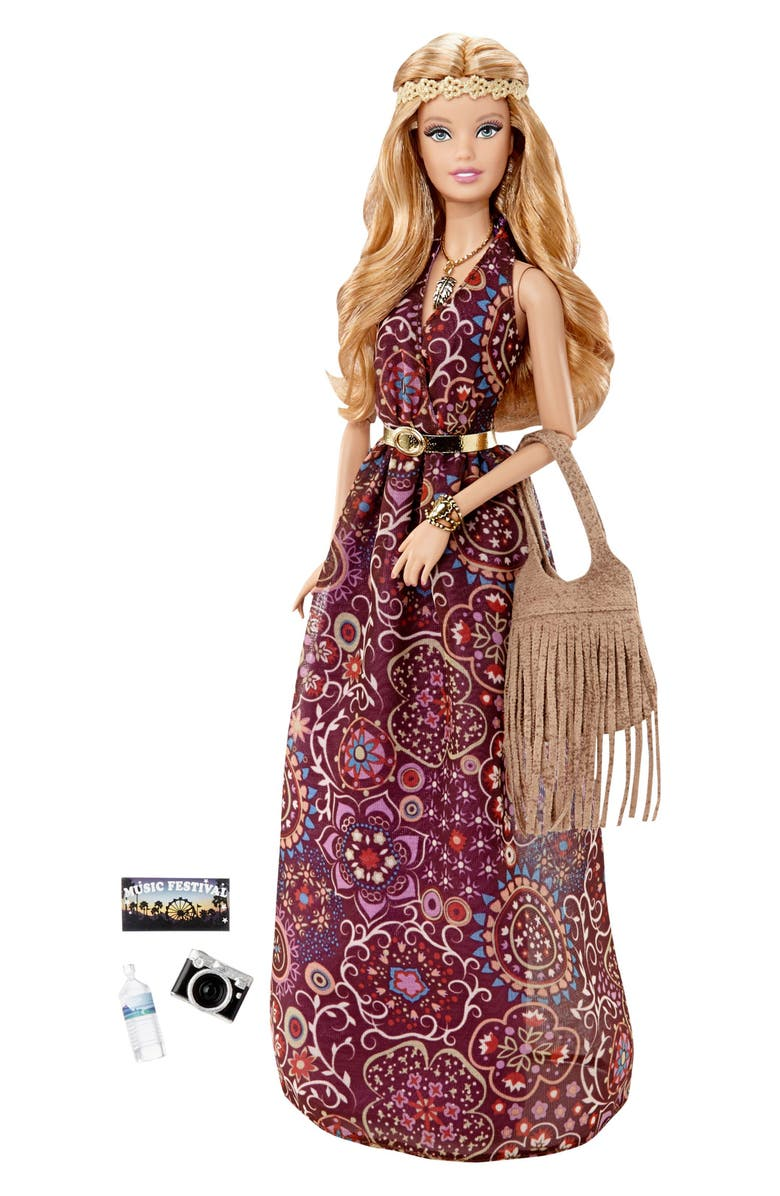 MATTEL The Barbie Look<sup>™</sup> Music Festival Barbie<sup>®</sup> Doll, Main, color, 650