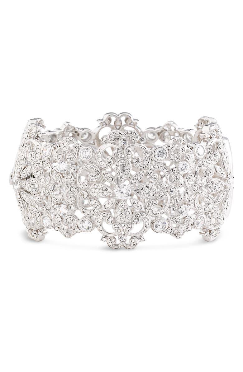 NADRI Filigree Cuff Bracelet, Main, color, 040
