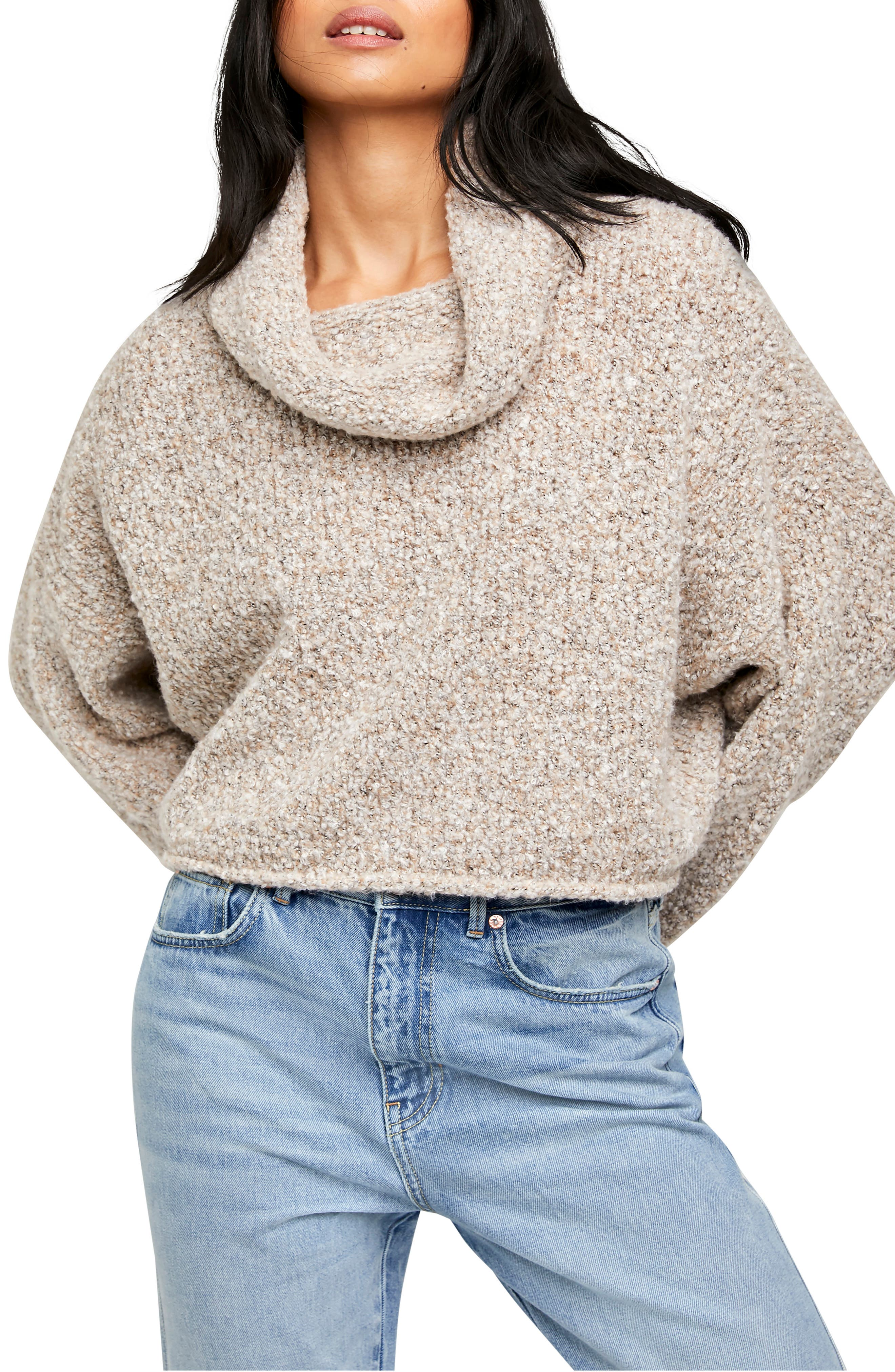 Image of Free People BFF Cowl Neck Sweater