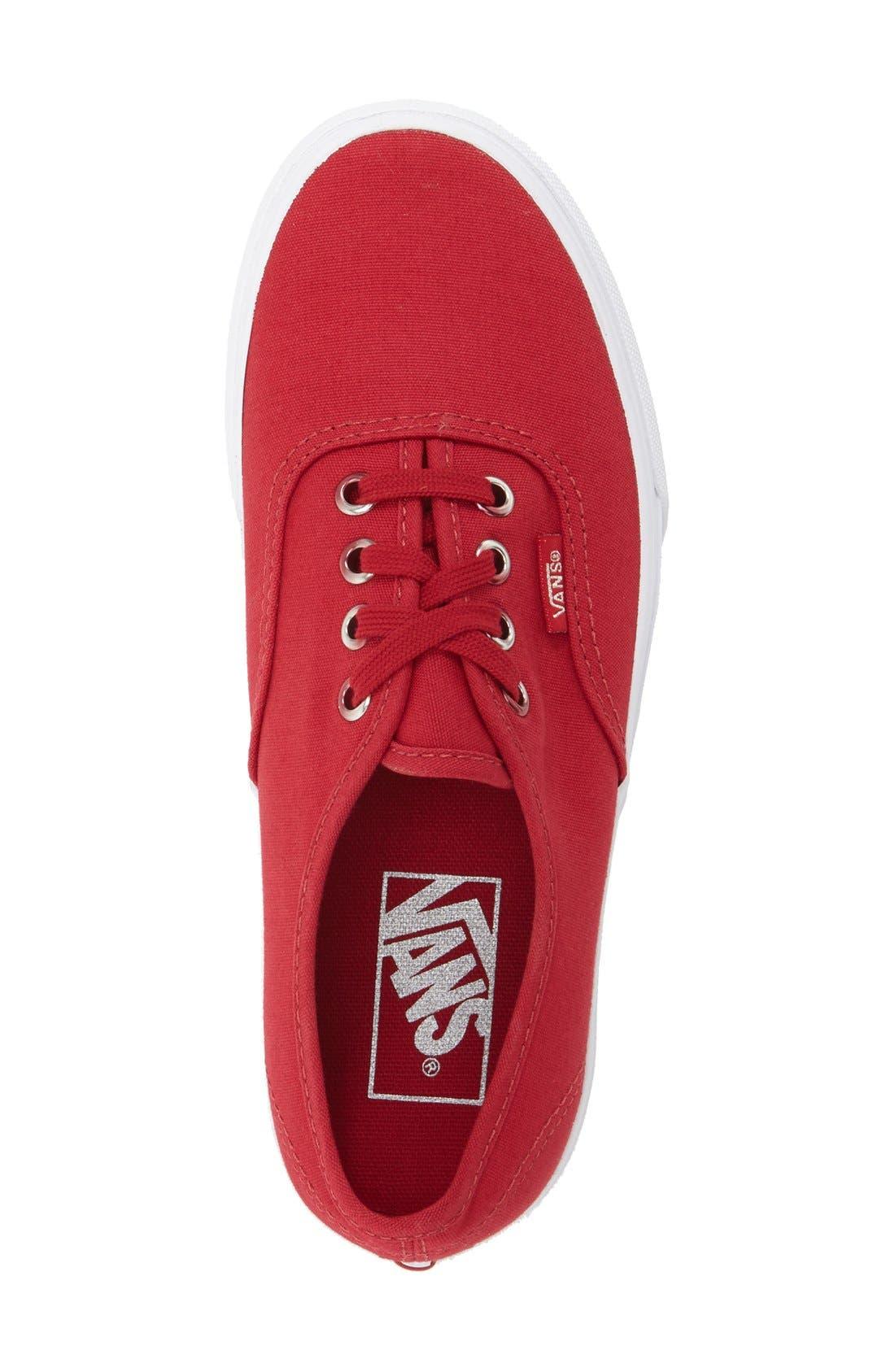 ,                             'Authentic' Sneaker,                             Alternate thumbnail 555, color,                             021