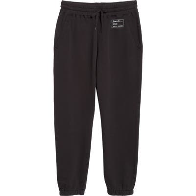 Entireworld French Terry Sweatpants, Black (Nordstrom Exclusive)