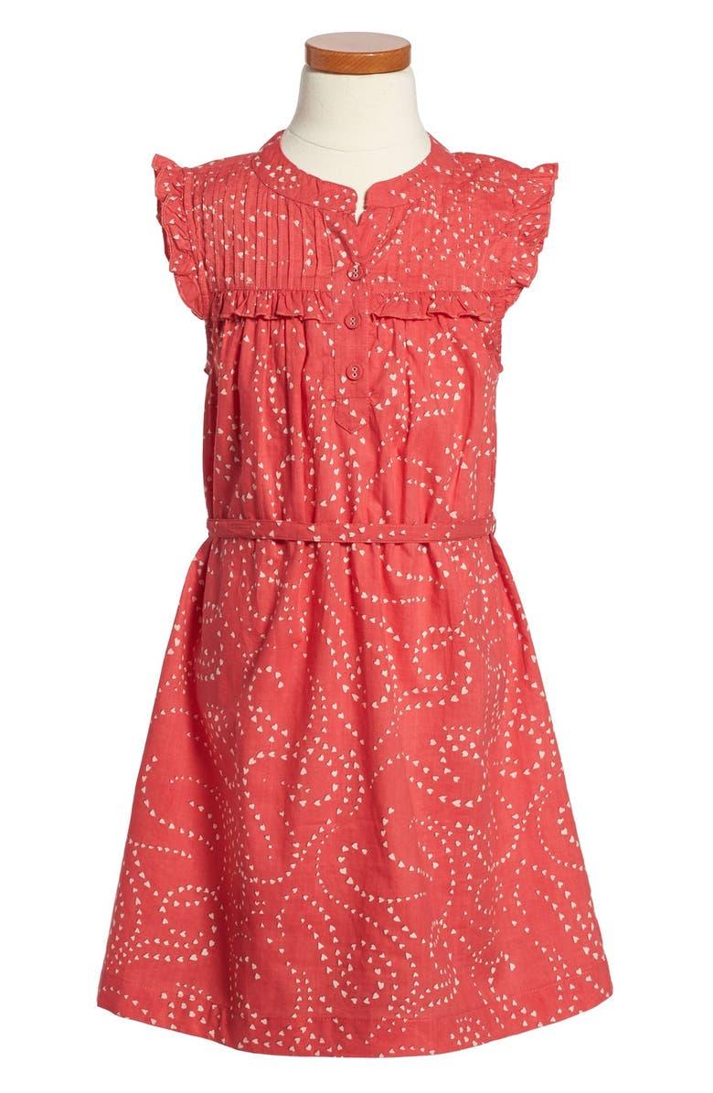 ea58e19566e93 Peek 'Valentine' Heart Print Dress (Toddler Girls, Little Girls ...