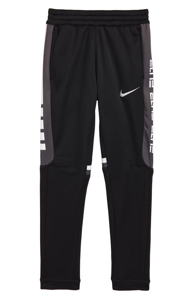 NIKE Therma Elite Stripe Pants, Main, color, 010