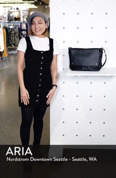 Nevyn Leather Messenger Bag, sales video thumbnail