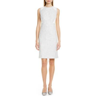 Club Monaco Pareesa Sleeveless Sheath Dress, Grey