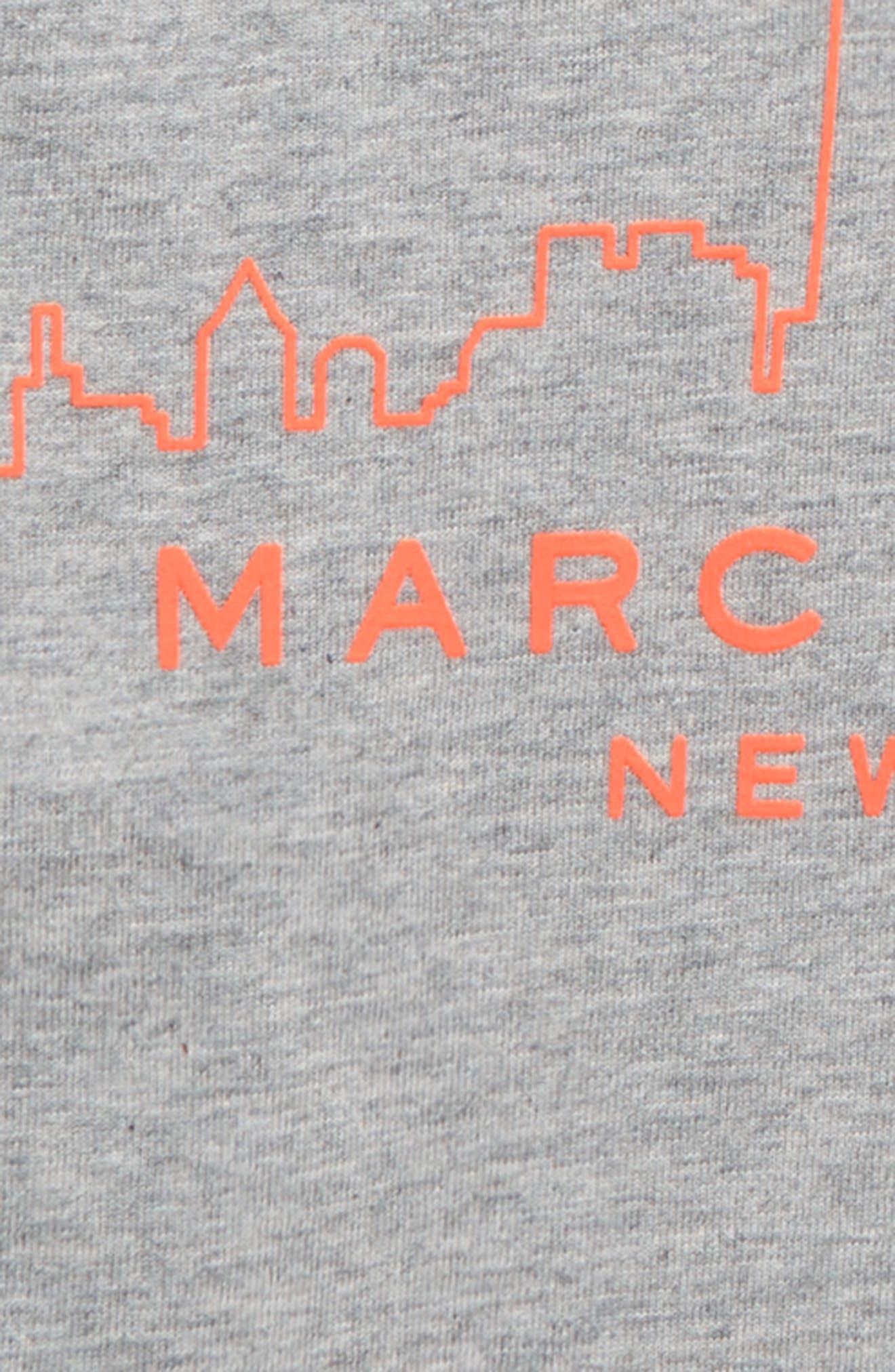 ,                             Logo T-Shirt,                             Alternate thumbnail 2, color,                             GRIS CHINE