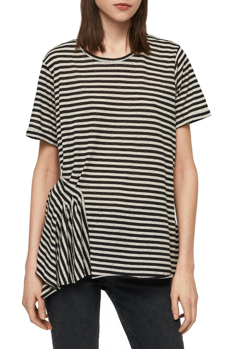 ALLSAINTS Robi Stripe Tee, Main, color, 481