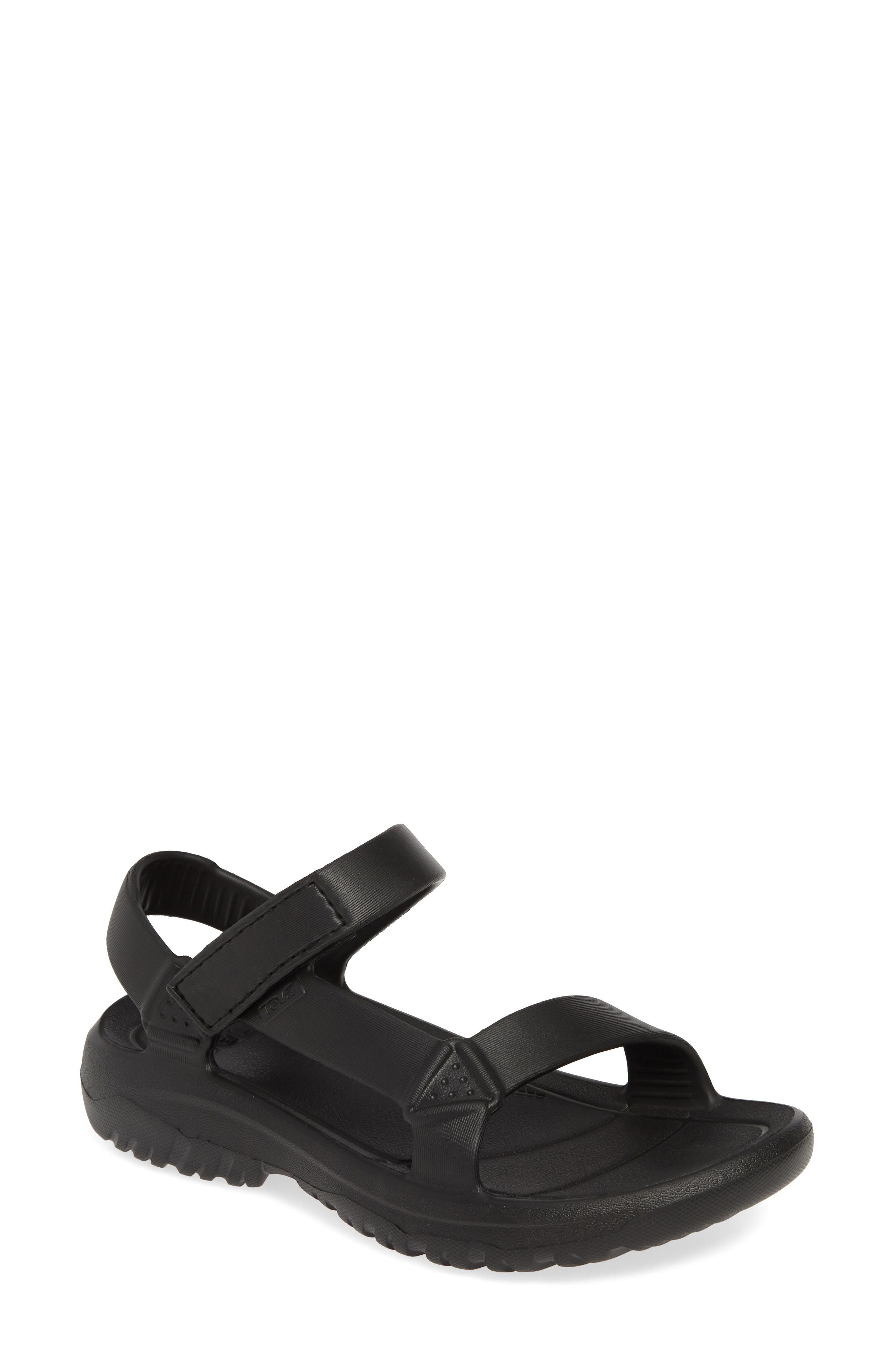 Hurricane Drift Water Friendly Sandal, Main, color, BLACK FABRIC