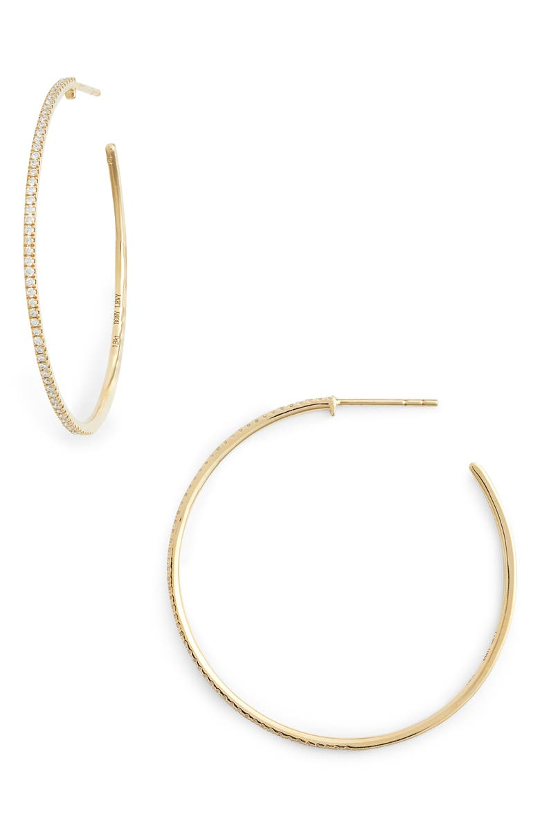 a633265a9596fc Bony Levy Large Diamond Hoop Earrings (Nordstrom Exclusive) | Nordstrom