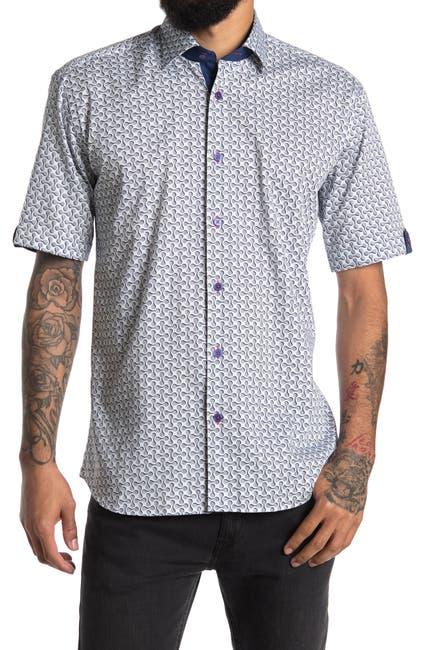Image of Maceoo Galileo Short Sleeve Shirt