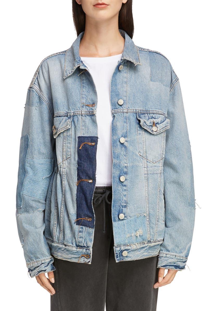 2000 Vintage Patch Denim Jacket by Acne Studios