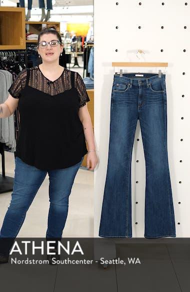 Elle High Waist Flare Jeans, sales video thumbnail