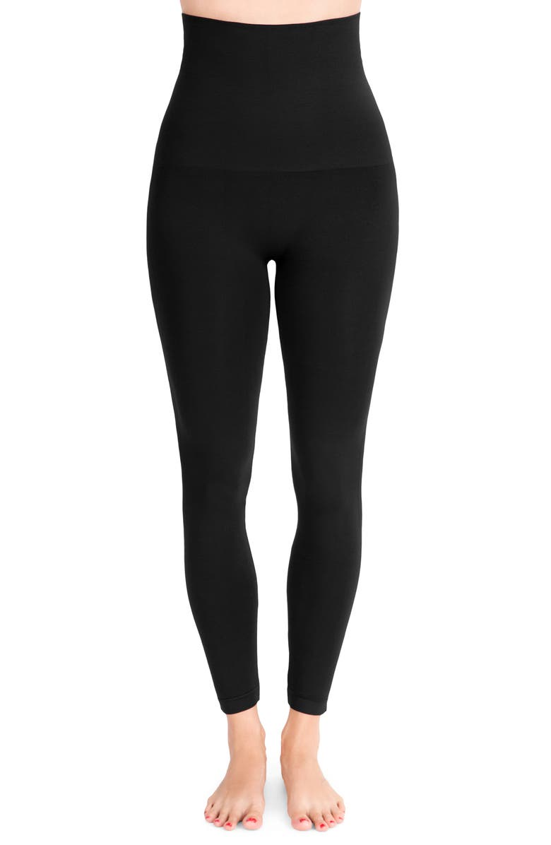 BELLY BANDIT<SUP>®</SUP> Mother Tucker<sup>®</sup> Compression Leggings, Main, color, BLACK