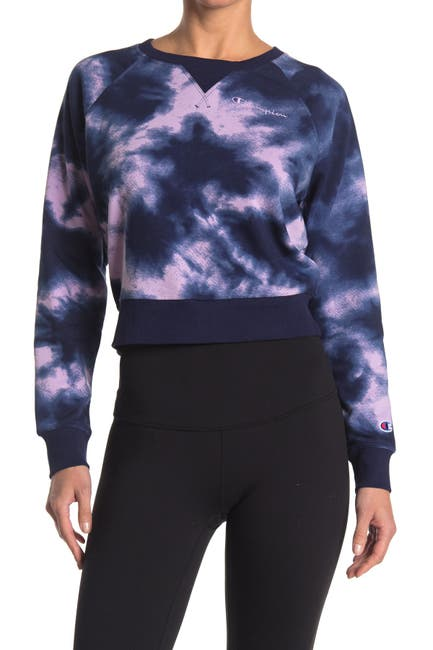 Image of Champion Campus French Terry Crop Sweatshirt
