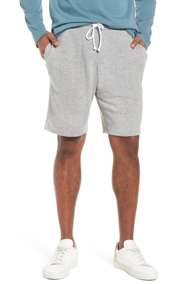 M.SINGER Lounge Sweat Shorts, Main, color, 030