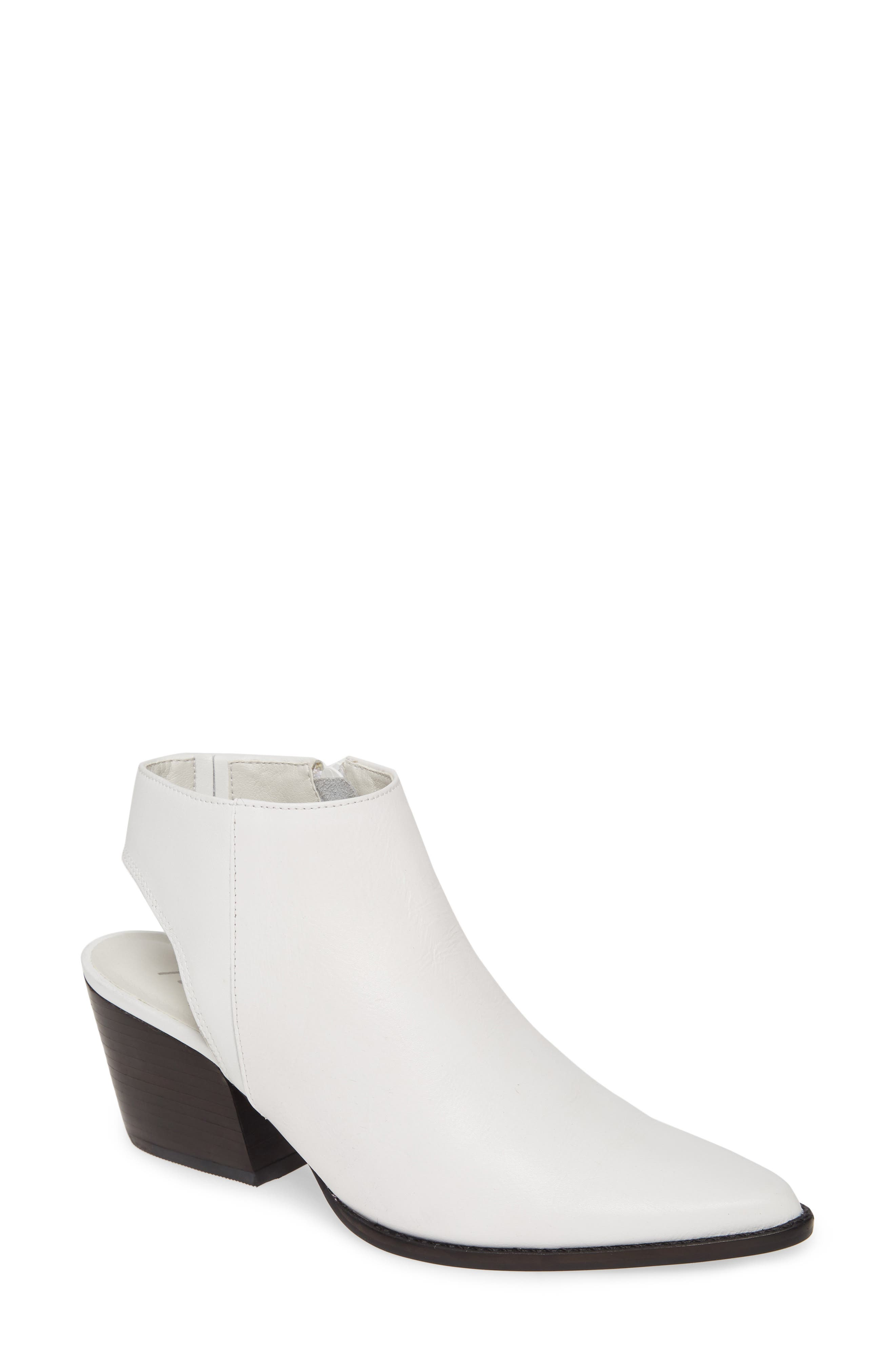 Matisse Odie Cutout Pointed Toe Boot, White