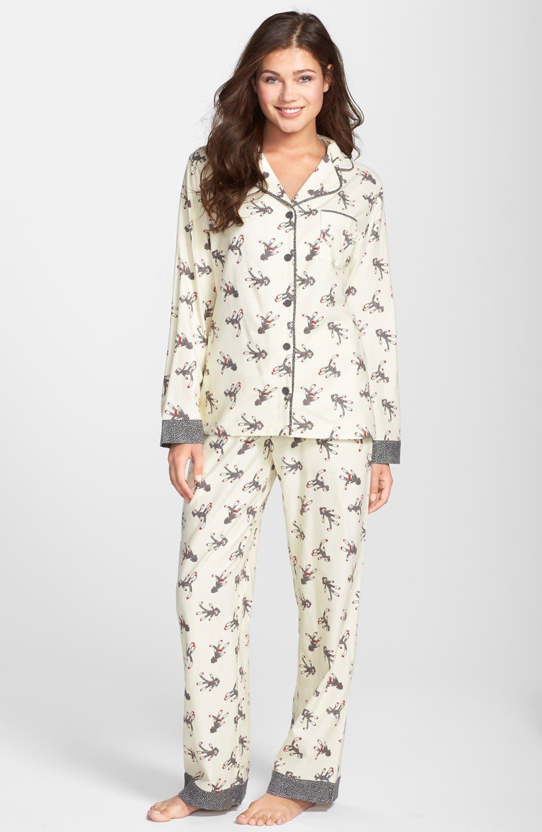,                             Flannel Pajamas,                             Main thumbnail 109, color,                             902