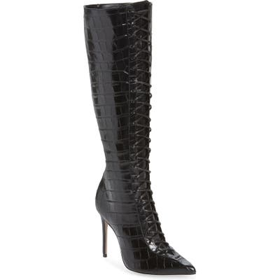 Schutz Meredith Knee High Boot, Black