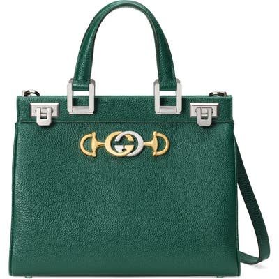 Gucci Smallleather Satchel - Green