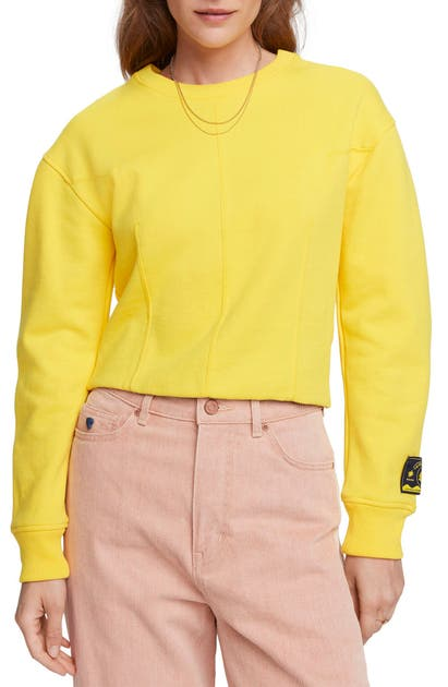 Scotch & Soda CROP SWEATSHIRT