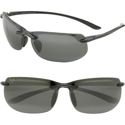 Maui Jim Banyans Polarizedplus2 67mm Rectangle Sunglasses -