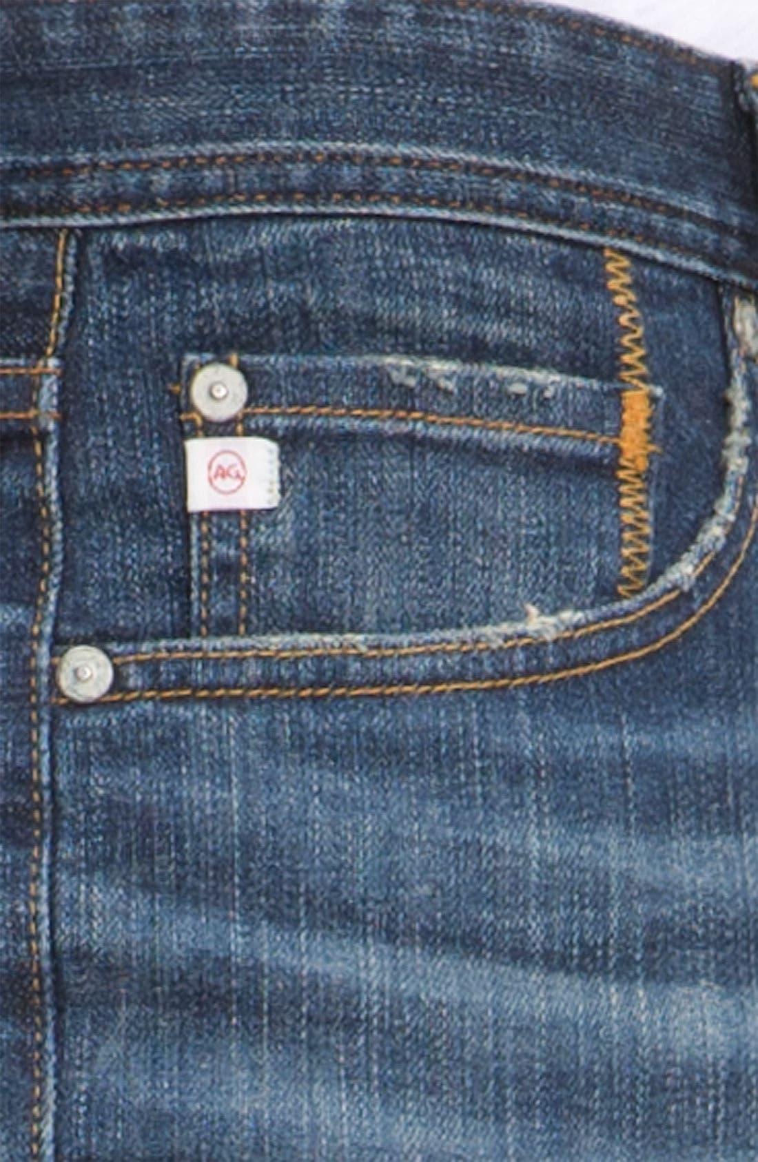 ,                             'Protégé' Straight Leg Jeans,                             Alternate thumbnail 55, color,                             485