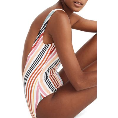 Madewell Second Wave Tank One-Piece Swimsuit, None