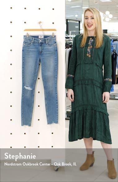 Verdugo Ripped Raw Hem Skinny Jeans, sales video thumbnail