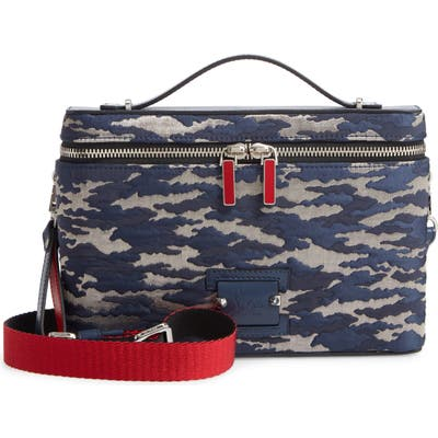 Christian Louboutin Kypipouch Jacquard Crossbody Bag - Blue