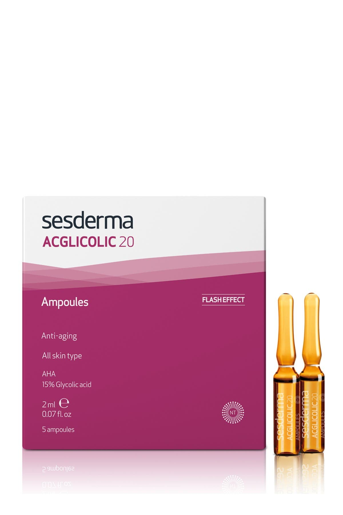 Image of Sesderma ACGLICOLIC 20 Ampoules