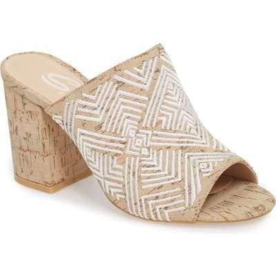 Sbicca Tania Mule, White