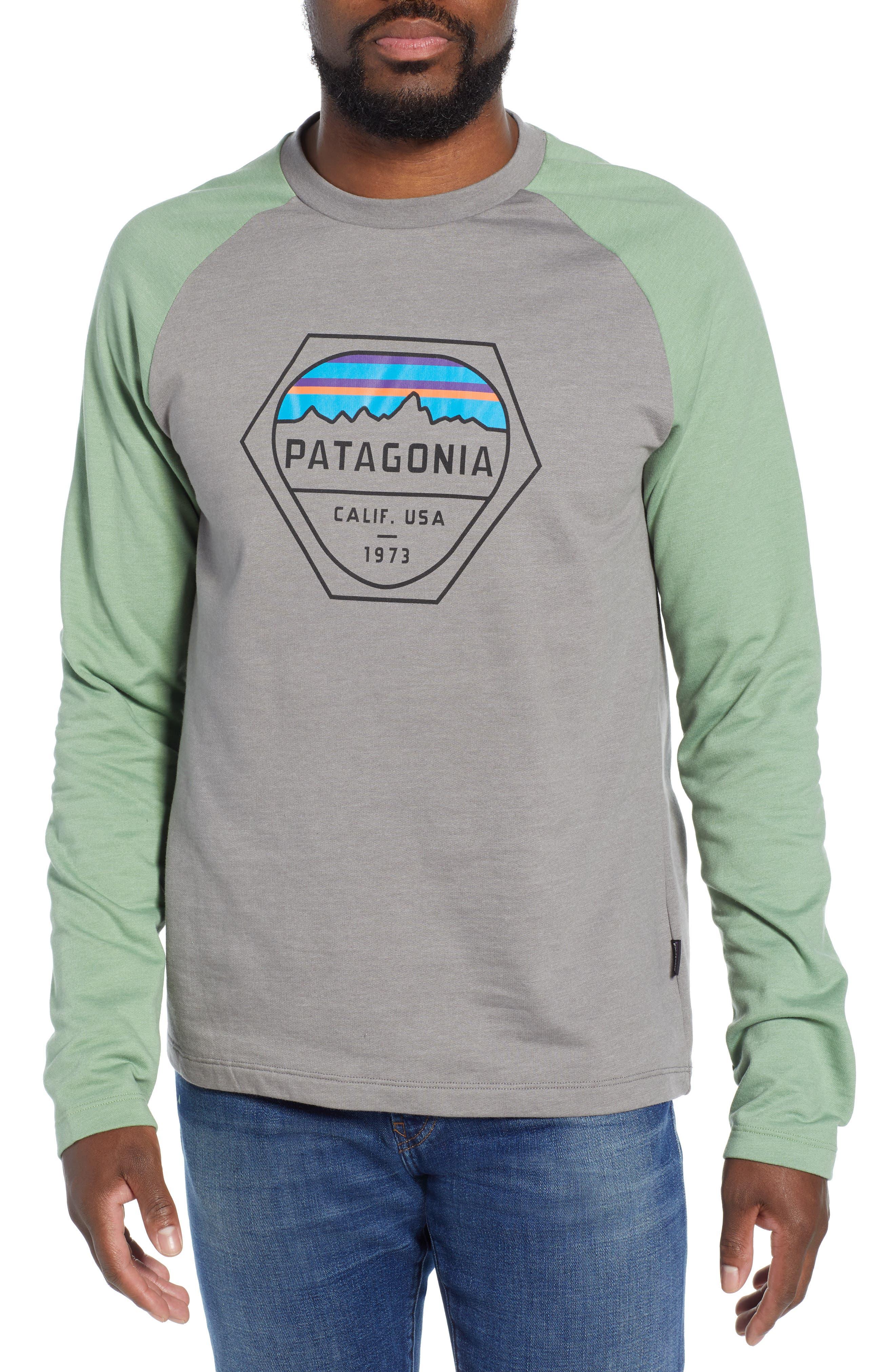 Patagonia Fitz Roy Hex Logo Sweatshirt
