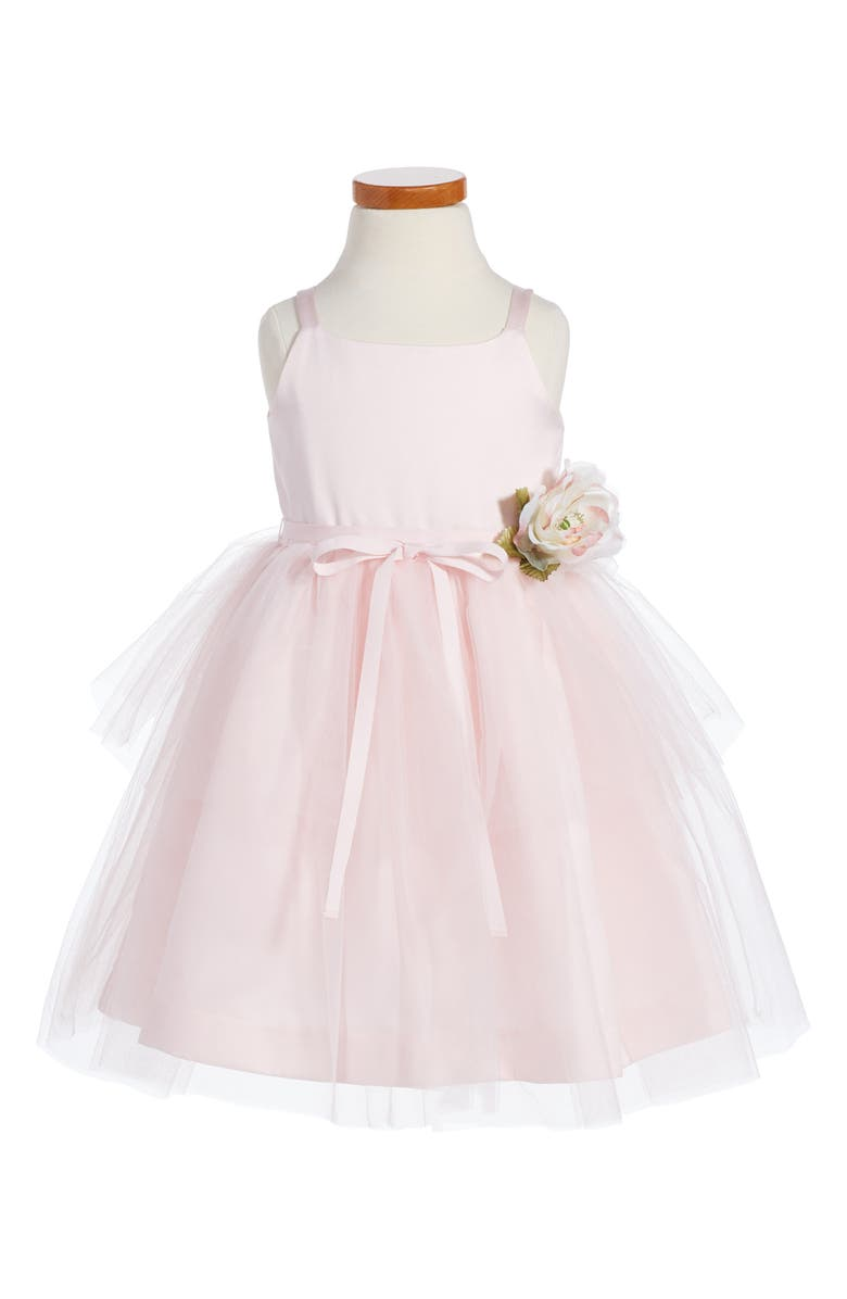 US ANGELS Tulle Ballerina Dress, Main, color, BLUSH PINK