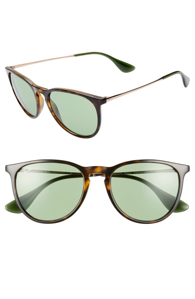 RAY-BAN Erika Classic 54mm Sunglasses, Main, color, 200