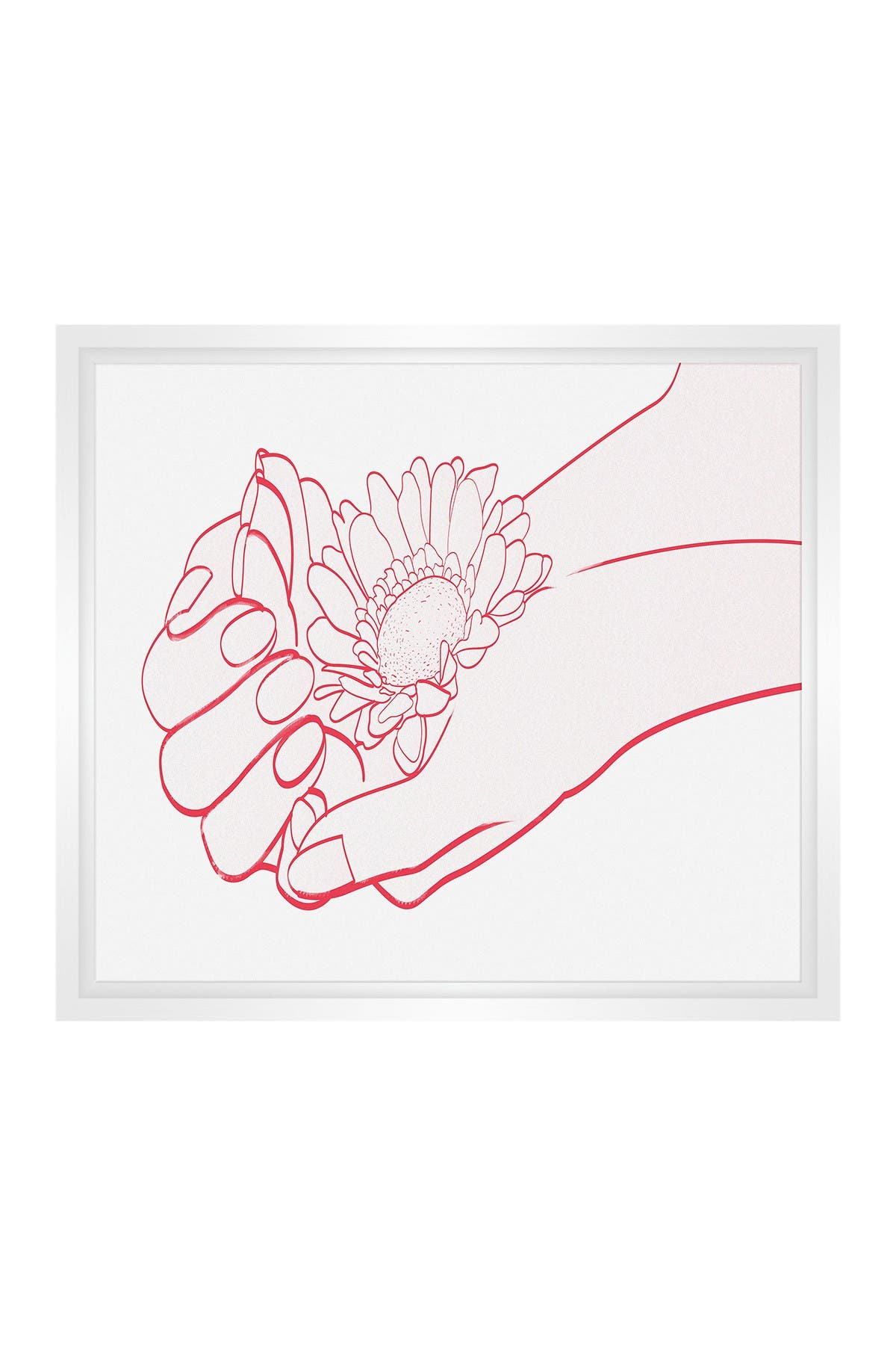 Image of PTM Images Small Line Drawing #14 Rectangle Canvas