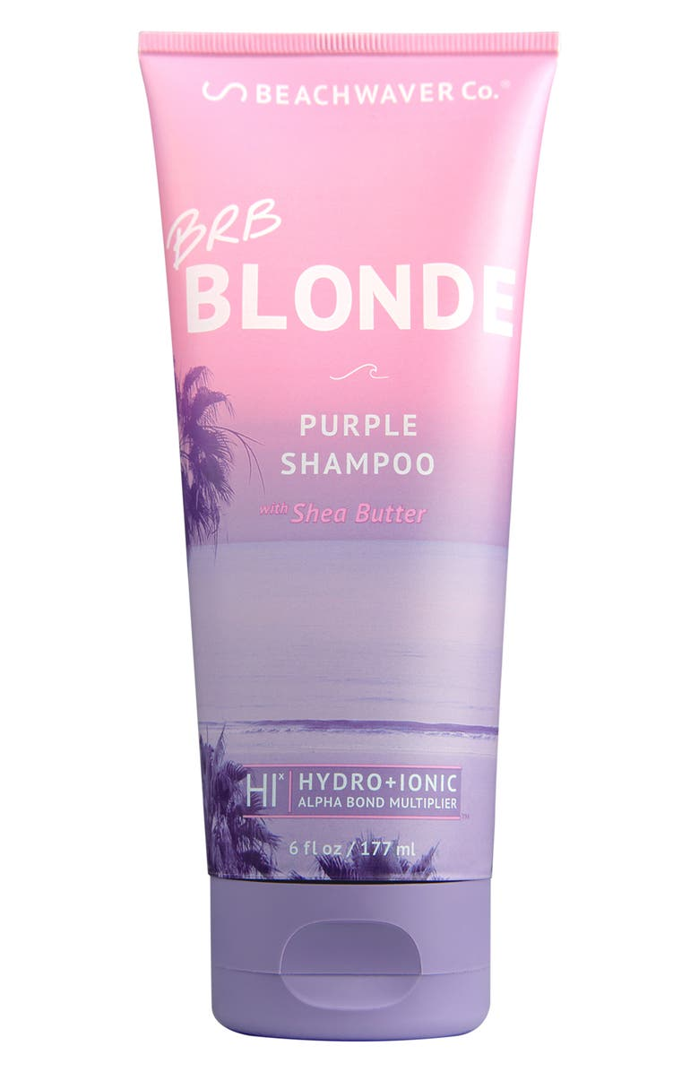 BEACHWAVER<SUP>®</SUP> CO. The Beachwaver Co.<sup>™</sup> BRB Blonde Purple Shampoo, Main, color, NO COLOR