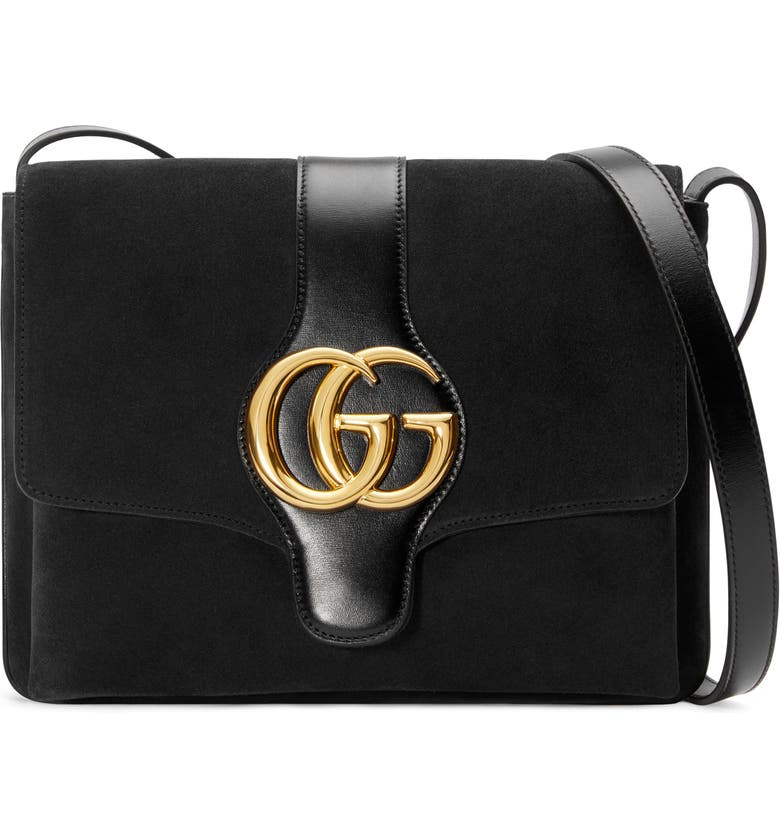 GUCCI MediumShoulder Bag, Main, color, NERO