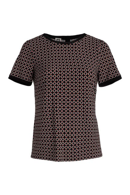 Image of Anne Klein Matelot Button Back Top
