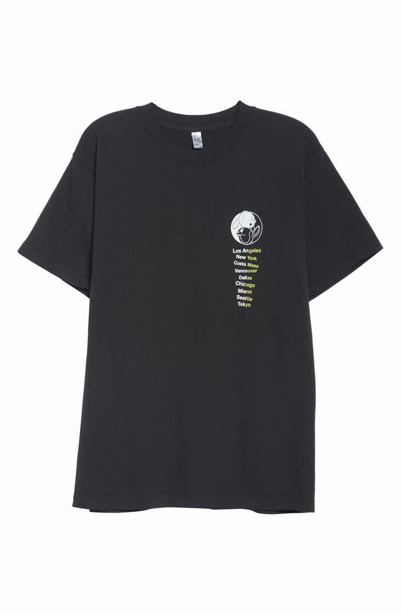 UNION PRINTABLES Union & Company T-Shirt, Main, color, BLACK