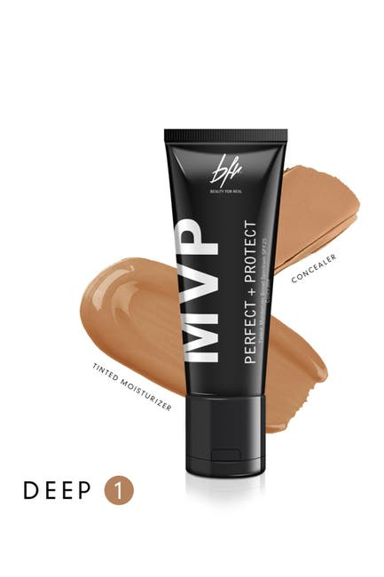 Image of Beauty For Real MVP Perfect+Protect 2-IN-1 SPF25 Tinted Moisturizer and Concealer - Deep #1