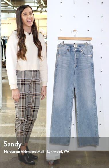Annina High Waist Trouser Jeans, sales video thumbnail
