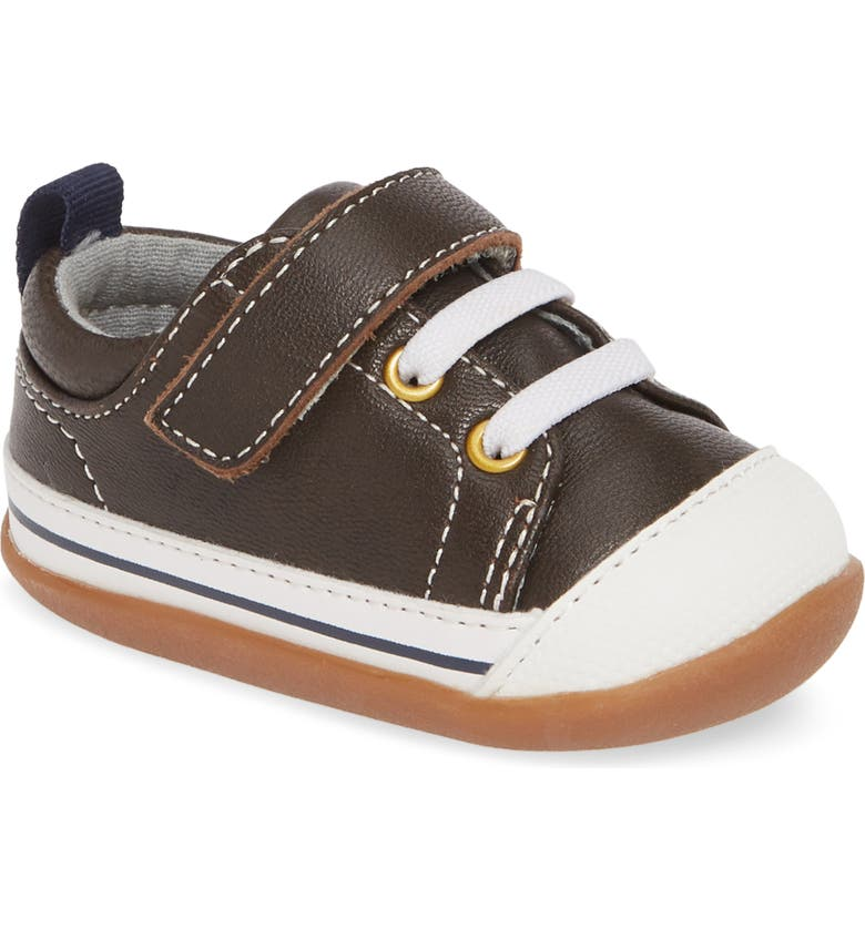 SEE KAI RUN Steve II Sneaker, Main, color, BROWN
