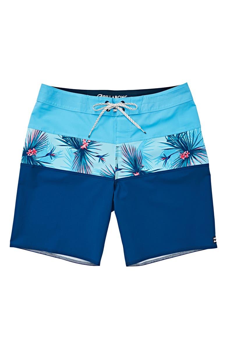 BILLABONG Tribong Pro Board Shorts, Main, color, DARK BLUE