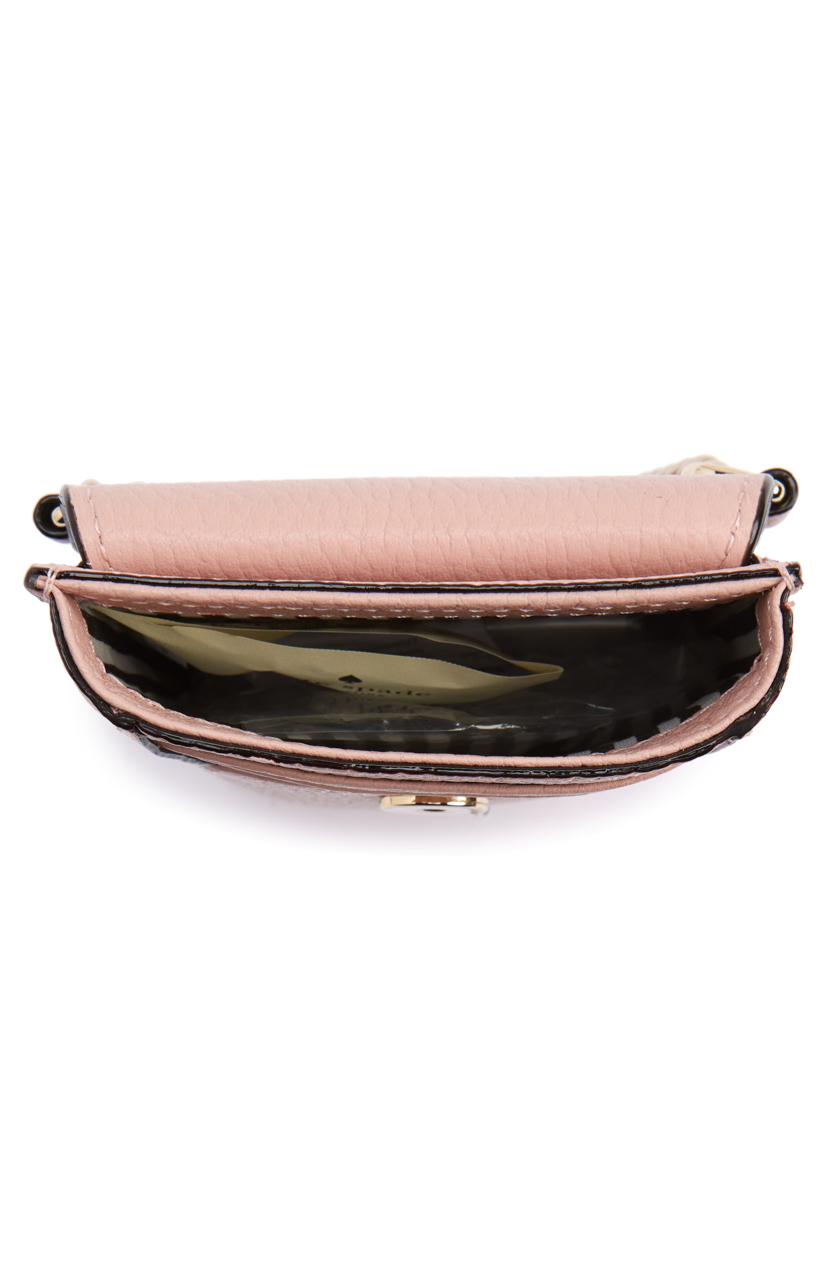 ,                             north/south leather smartphone crossbody bag,                             Alternate thumbnail 65, color,                             930