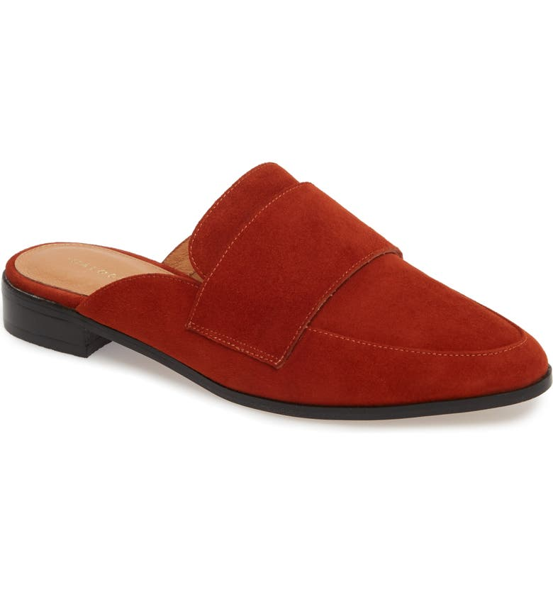 HALOGEN<SUP>®</SUP> Violet Genuine Calf Hair Mule, Main, color, 201