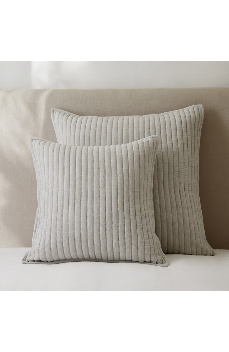 THE WHITE COMPANY Coleridge Cushion Cover, Main, color, SILVER GREY