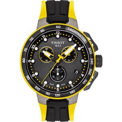 Tissot T-Race Cycling Tour De France 2019 Chronograph Silicone Strap Watch, 4m