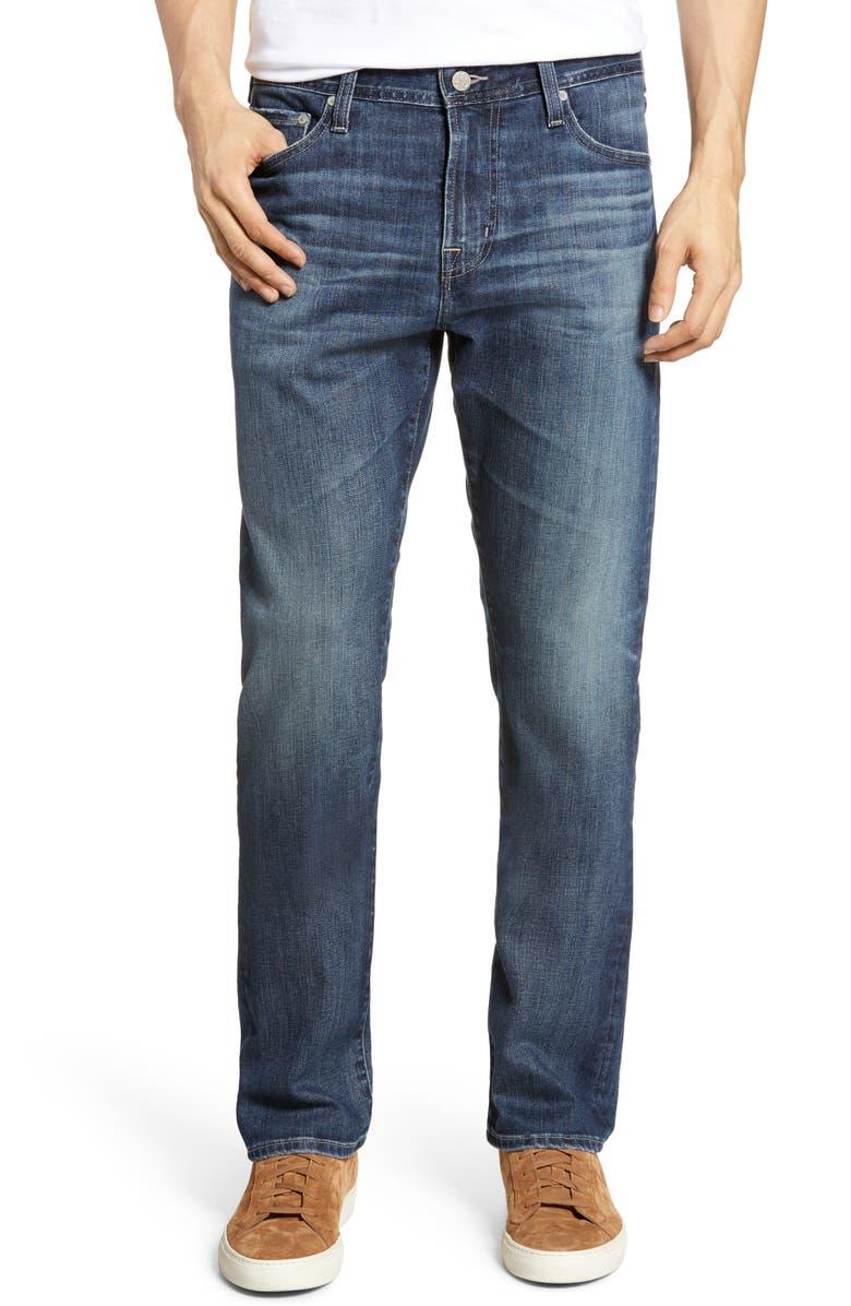 AG Everett Slim Straight Leg Jeans, Main, color, 457