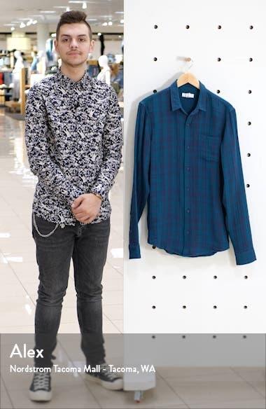 Duofold Longline Plaid Button-Up Shirt, sales video thumbnail
