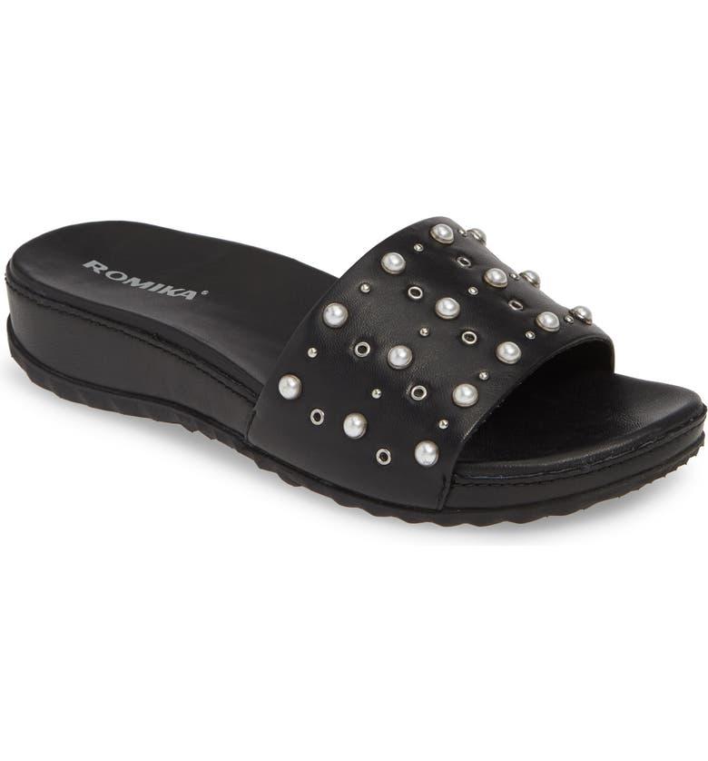 Romika Florenz 07 Embellished Slide Sandal Women